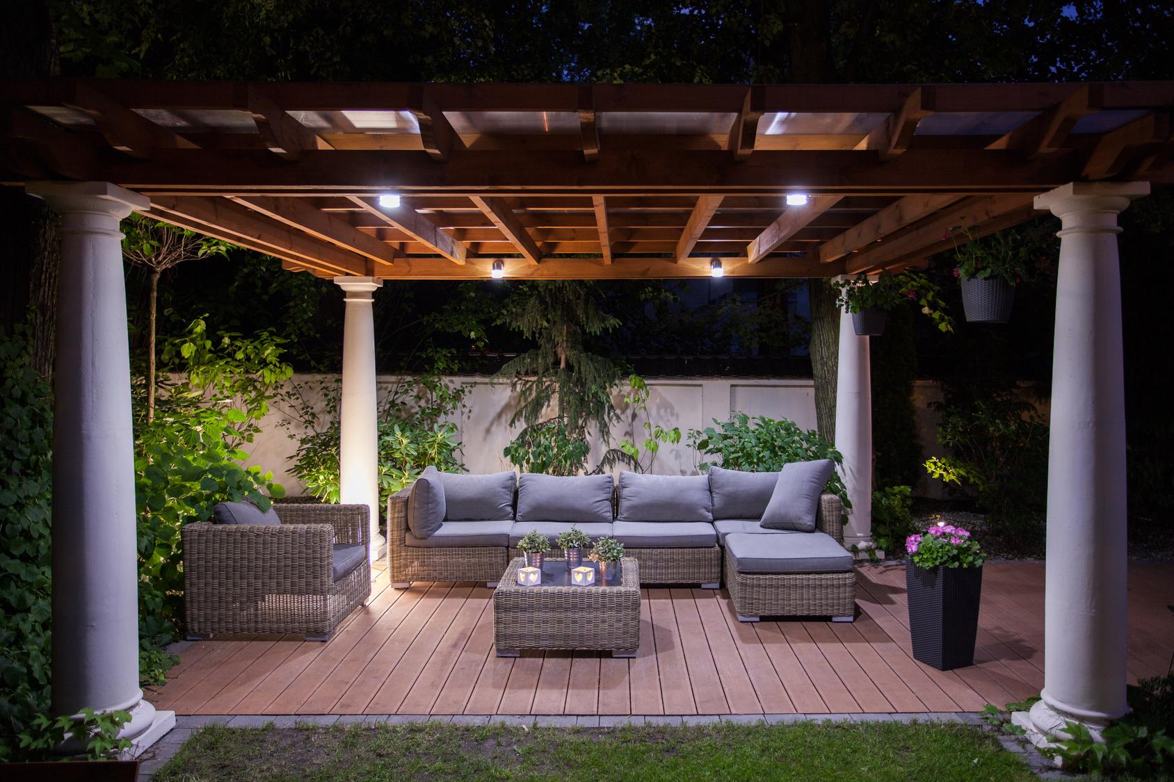 Transformation und dekorieren Sie Ihren Garten in Traumlage!