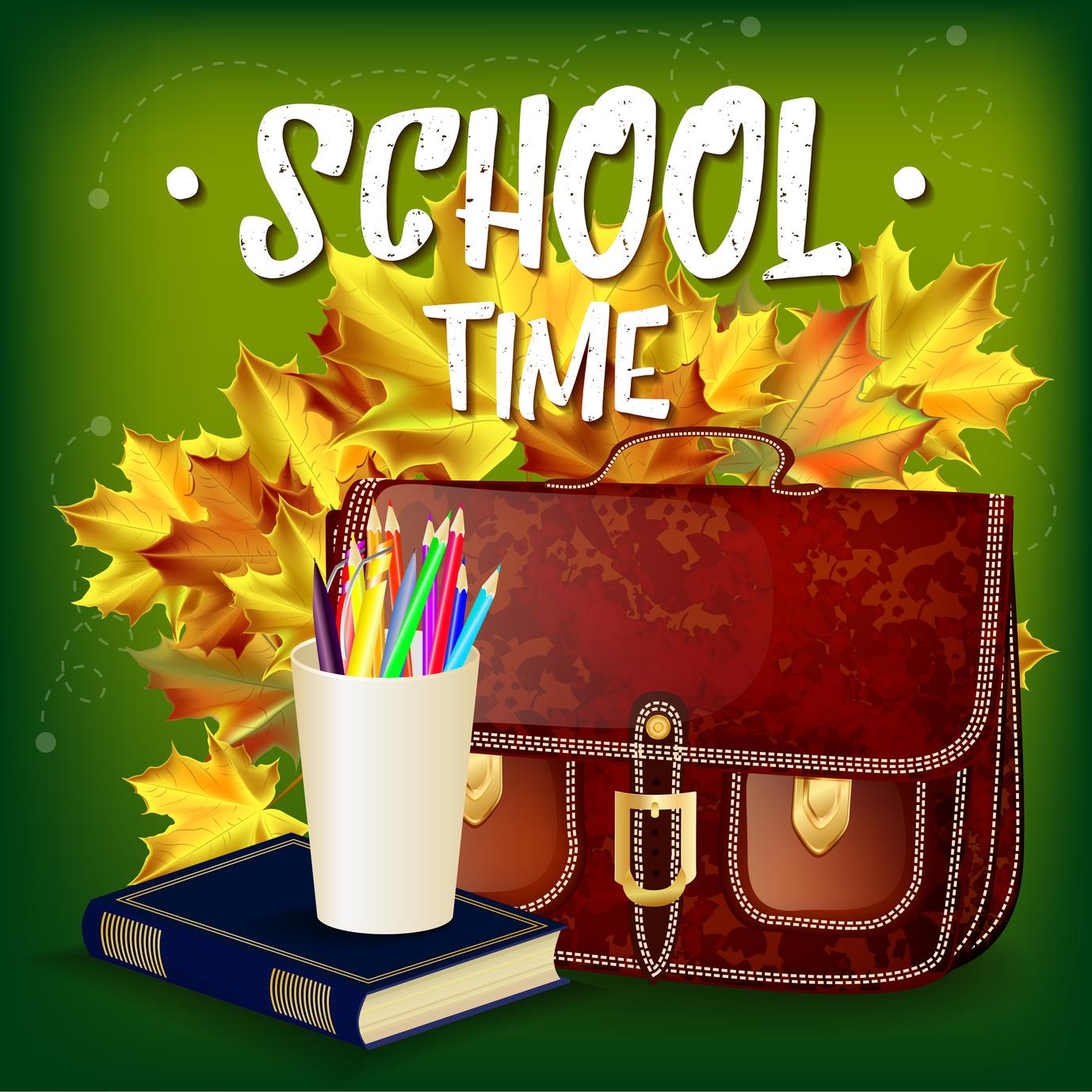 Schultüte- Ihr erster Tag in der Schule.