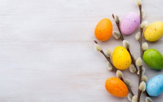 Ostern und Ostern-Rabatt