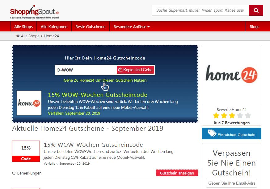 Hom24 Gutschein