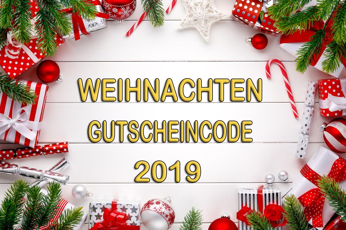 Weihnachten Aktionscode 2019