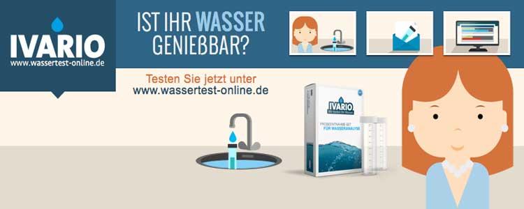 Wassertest Online Gutschein