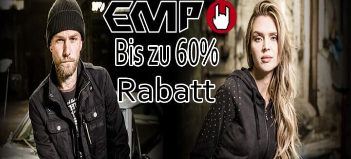 Bis zu 60% Rabatt auf ausgewählte Artikel bei EMP