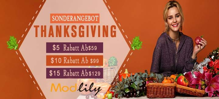 Thanksgiving Day Sale: $15 Rabatt auf $129 +