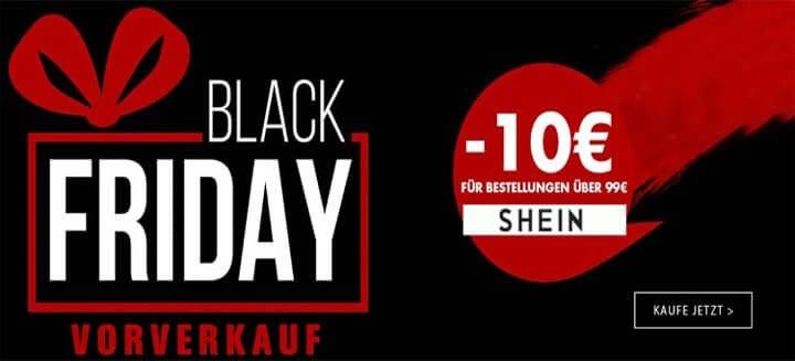 BLACK FRIDAY vorverkauf 10€ Rabattcode