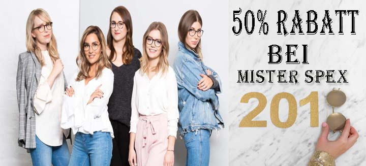 50% Rabatt Bei Mister Spex