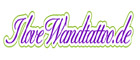 I Love Wandtattoo